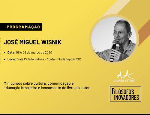 [Inscrições encerradas] José Miguel Wisnik ministra aulas na Sala Cidade Futura