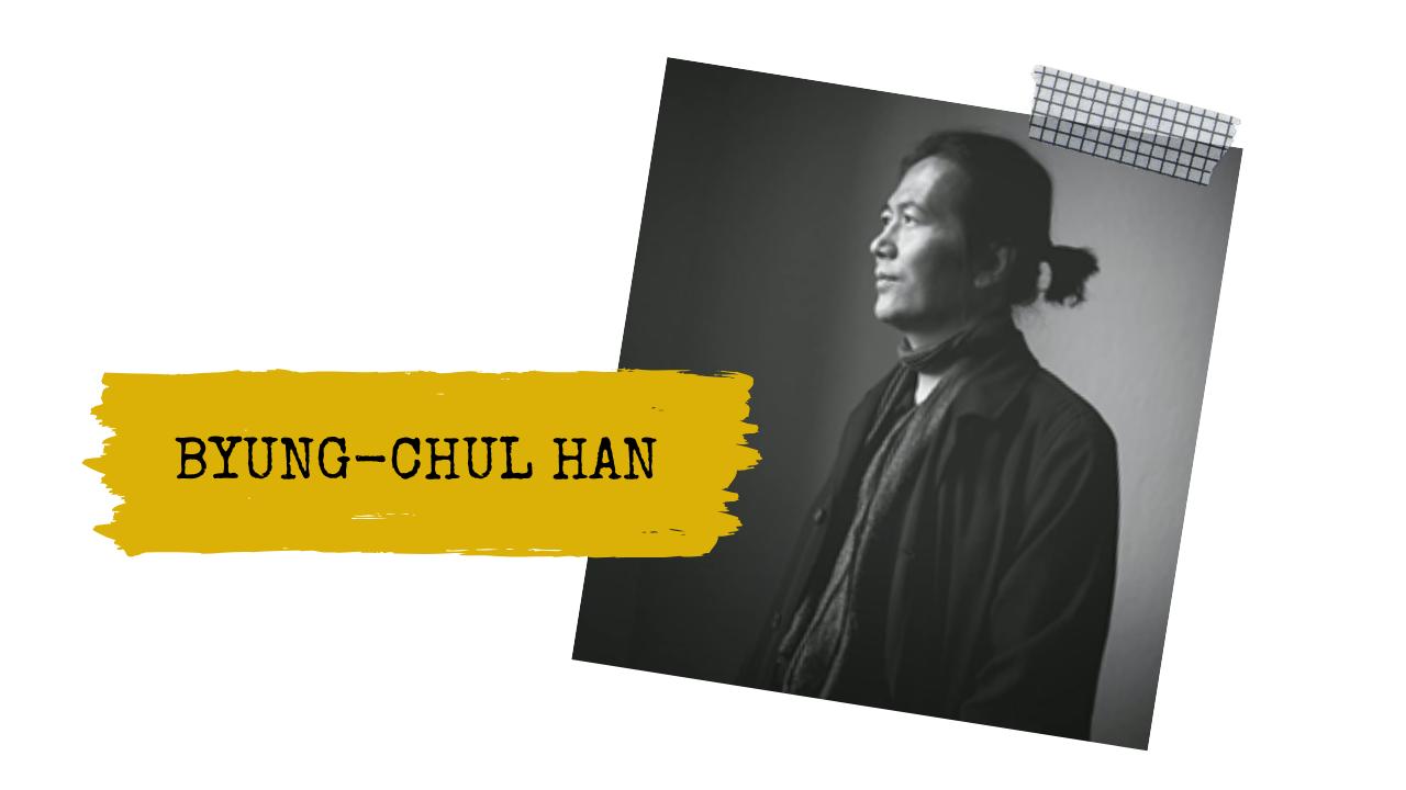 COVID-19 Byung-Chul Han