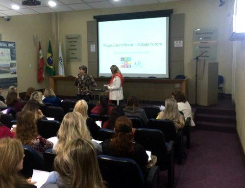 Bom de Ler é pauta na reunião de diretores da rede municipal de Criciúma